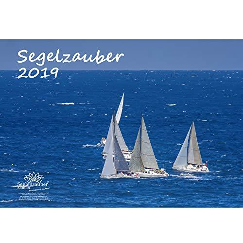 Zeilmagie · DIN A3 · Premium kalender 2019 · zeilschip · zeilen · water · jacht · boot · railing · fjord · strand · vakantie · zee · Edition zeelmagie