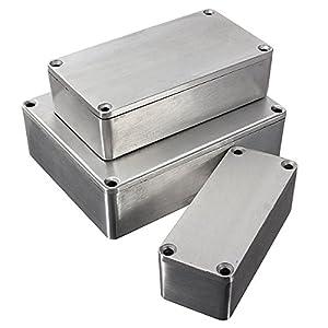 BASDW Aluminium Stomp Case Enclosure Gitarreneffektpedal BASDW ( Size : Large Size )