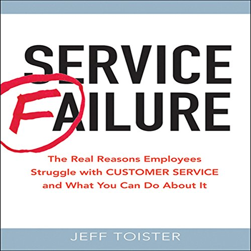 Service Failure audiobook cover art