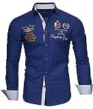 Kayhan Hombre Camisa Monaco Navy M
