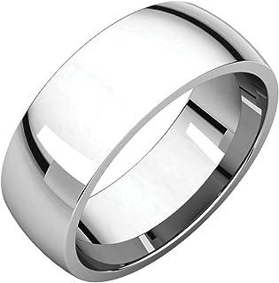 FB جواهر 925 الفضة الاسترليني 7 مم ضوء الراحة صالح الرجال خاتم الزفاف الفرقة