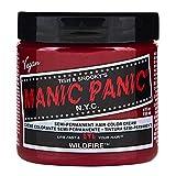 MyPartyShirt Wildfire Red Manic Panic Vegano 4 Oz Tinte de Pelo de Color