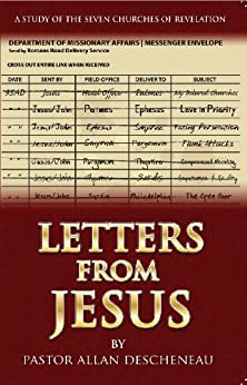 Letters From Jesus by [Allan Descheneau, Pierre Belanger]