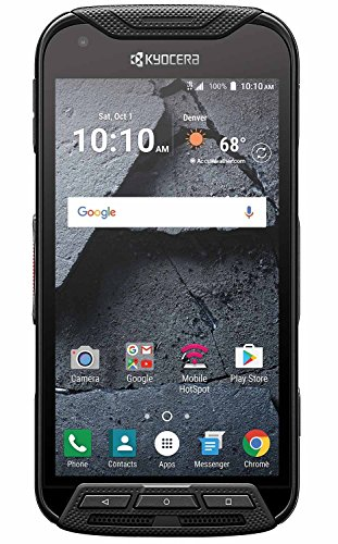 Kyocera Duraforce Pro E6820 32GB Phone w/ 13MP Camera - Black (Renewed)