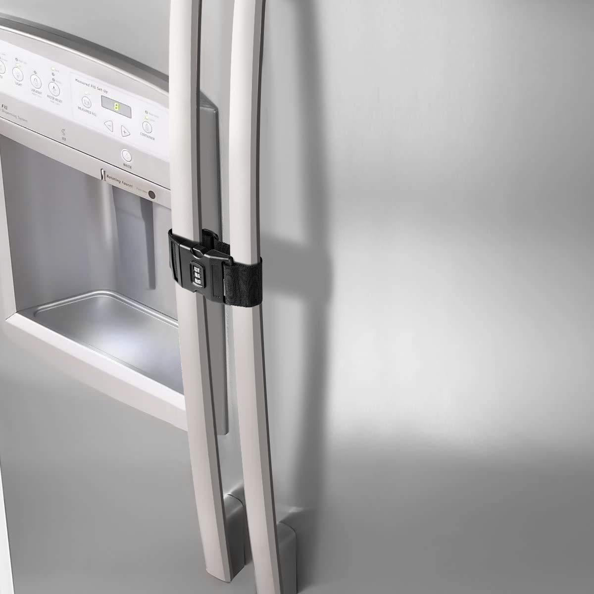 Soaos Fridge Freezer Refrigerator Cabinet Latch 2 Packs Lock National uniform free shipping latest