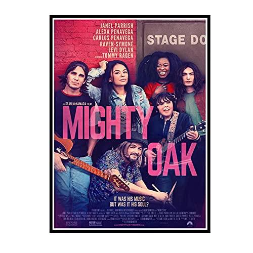 Tamatina Mighty Oak Movie Poster und Drucke Wandkunst Leinwand Malerei Drucke an der Wand für Home Wall Decor -50x70cm No Frame 1 Pcs