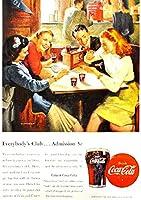 309F 1947年のレトロ広告 コカコーラ Coca-Cola Coke
