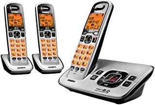 Uniden D1680-3 Cordless Phone/Answering System with 3 Handsets