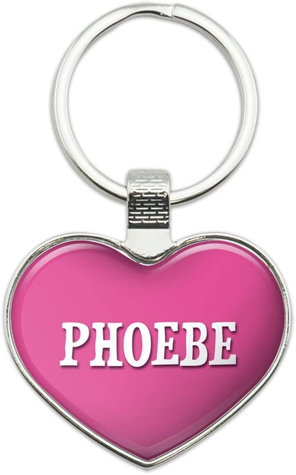 Metal Keychain Topics on TV Ultra-Cheap Deals Key Chain Ring Pink I Love P Female Names Heart