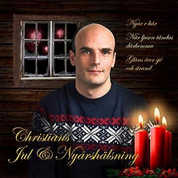Christians jul & nyårshälsning