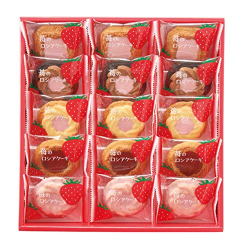 苺のロシアケーキ 15個