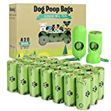 TVOOD Dog Poop Bags(420 Count), Biodegradable Poop Bags for Dogs, Leak Proof, Eco-Friendly...