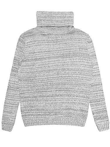Will's Vegan - Zapatos para mujer, cuello redondo, lana de merino vegana, color gris Grey Vegan Merino Wool XL