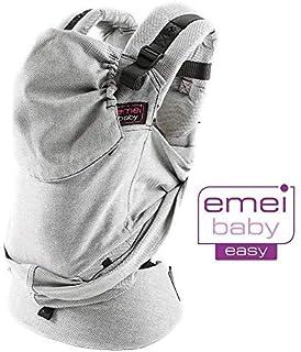 Easy Emeibaby - Mochila portabebés, color gris