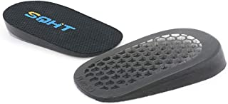 SQHT's Height Increase Insoles - Heel Shoe Lift Inserts for Achilles Tendonitis and Leg Length Discrepancy, Heel Cushion for Men & Women (0.6'' Height)