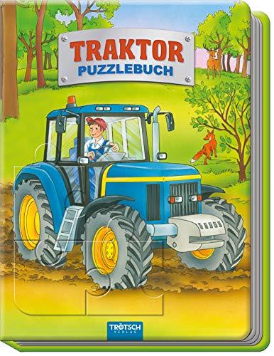Trötsch Traktor Puzzlebuch: Beschäftigungsbuch Entdeckerbuch Puzzlebuch