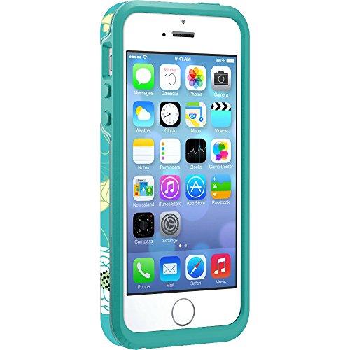 Otterbox Symmetry coque anti-choc fine et élégante pour Iphone 5/5S/SE Bleu Eden