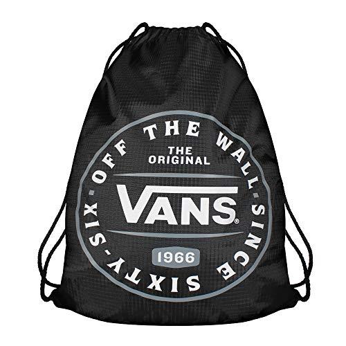 Vans League Bench Bag Sac à dos loisir, 44 cm, 12 liters, Noir (BLACK-MULTI)