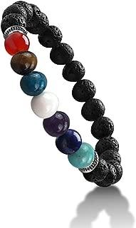 Superbe puissant Pierre de Lune Bracelet rond en perles en cristal Fashion Jewelry Wicca gu/érison cadeau bien-/être M/éditation /énergie positive Succ/ès la prosp/érit/é Love