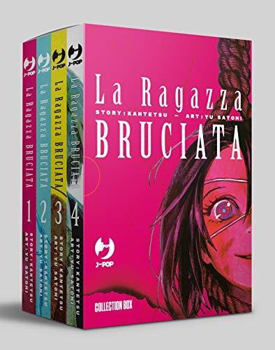 La ragazza bruciata. Collection box: La Ragazza Bruciata. Box: 1-4