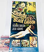 RICOU BROWNING SIGNED 12X18 PHOTO MINI POSTER CREATURE FROM THE BLACK LAGOON JSA WPP274289 AUTOGRAPH PROOF COA AUTOGRAPHED UNIVERSAL MONSTER