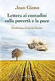 Lettera ai contadini sulla povertà e la pace (Italian Edition)