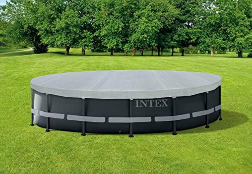 Intex Deluxe Pool Cover - Poolabdeckplane Deluxe - Ø 488 cm - Für Ultra Frame Pool
