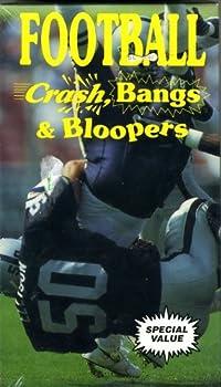 Football - Crash Bangs and Bloopers [VHS]