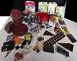 8,5Kg Mystery Box ÜberraschungsBox WunderPaket Sonderposten Restposten bunt gemischte Waren unsortiert Kerzen Dämpfer Filz-Gleiter Rohrstopfen Schleifmittel