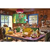 Tektalk 1000 Piece Puzzle Jigsaw Puzzle for Teens & Adults - Naughty Kitties