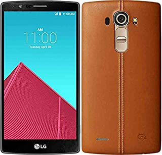 LG G4 H818-32GB, 3GB RAM, 4G LTE, WiFi, Brown Leather Back Cover