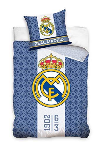 Real Madrid RM182024 - Juego Cama 160 x 200 + 70 x
