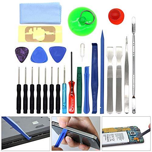 ASOSMOS 25 in 1 Präzisions-Schraubendreher-Set Repair Tool Kit für Uhren-Computer-Brillen-Handy