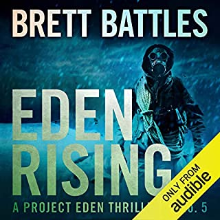Eden Rising audiobook cover art