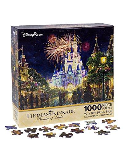 Walt Disney World Thomas Kinkade Main Street U.S.A. Fireworks 27'x20' 1000 Piece Puzzle