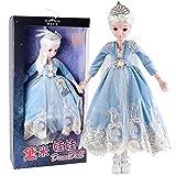 YNSW Muñeca BJD, Blancanieves En Un Vestido De Princesa Azul 1/3 SD Doll 60Cm Muñecas Articuladas De 24 Pulgadas Muñeca Bjd Cumpleaños para Niños