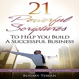 21 Powerful Scriptures: To Help You Build a Successful Business audiobook cover art