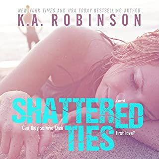 Shattered Ties audiobook cover art