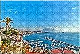View on Coast line of Bellagio on Lake Como,Italy Italy Water City Rompecabezas grandes de 1000 piezas para adultos Juguete educativo para adultos Niños Juego de rompecabezas grande Juguetes Regalo-P