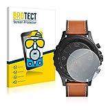 BROTECT 2X Entspiegelungs-Schutzfolie kompatibel mit Fossil Q Nate Bildschirmschutz-Folie Matt, Anti-Reflex, Anti-Fingerprint