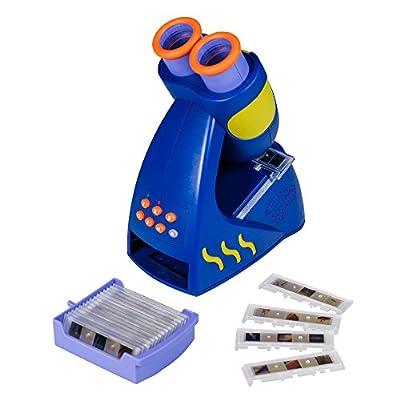 Educational Insights GeoSafari Jr. Talking Microscope, Featuring Bindi Irwin - Microscope for Kids