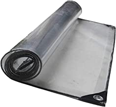 NEVY dekzeilen PVC transparant tarps tent regenbestendig doek planten transparante grondfolie zonwering afdekzeil dekzeil ...