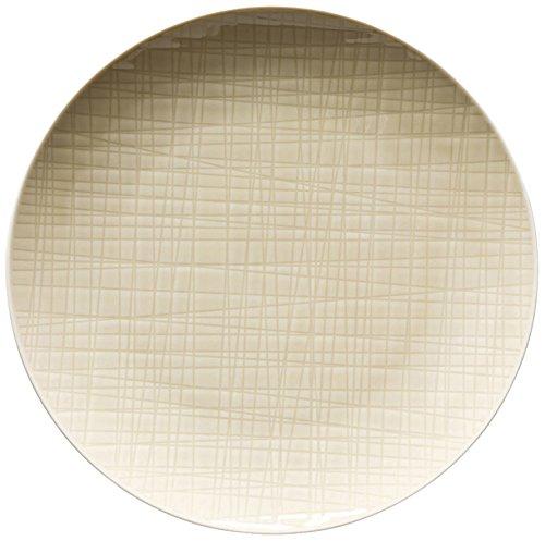 Rosenthal 11770-405153-10861 Mesh - Colours Cream - Teller flach/Kuchenteller/Frühstücksteller - Porzellan - Ø 21 cm