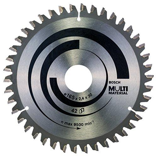 Bosch 2 608 640 519 - Hoja de sierra circular Multi Material - 165 x 30 x 2,4 mm, 42 (pack de 1)