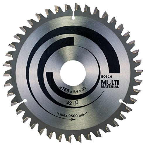 Preisvergleich Produktbild Bosch Professional 2608640519 Kreissägeblatt KSB 165 x 30 / 20 42TR-F multi SB2, 4