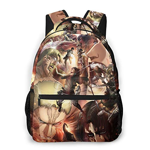 Attack On Titan Casual Backpack School Bag Kids Anime Printed Cartoon Backpack Unisex