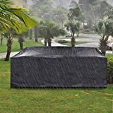 king do way Outdoor Patio Furniture Covers, Extra Large Outdoor Furniture Set Covers Waterproof, Windproof,...