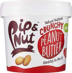 Naturally nutty crunchy peanut butter with a sprinkling of sea salt Absoloutly no palm oil or refined sugar A natural source of protein Can be eaten for breakfast, lunch or dinner Suitable for vegans and vegetarians