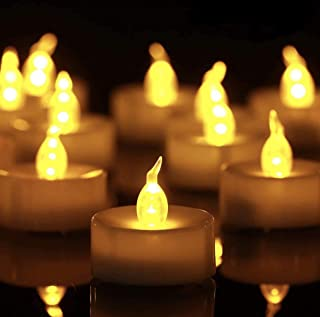 Tea Light, 150 Pack Flameless LED Tea Lights Candles Flickering Warm Yellow 100+ Hours Battery-Powered Tealight Candle. Id...