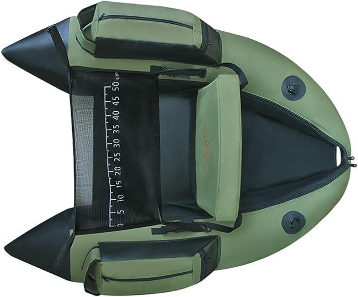 Catamarano di pesca per il kajak di pesca 1 persona barca a remi della sedia di pesca gonfiabile z&hao 655-385